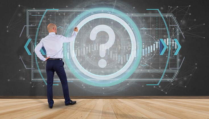 Auditor resolviendo pregunta