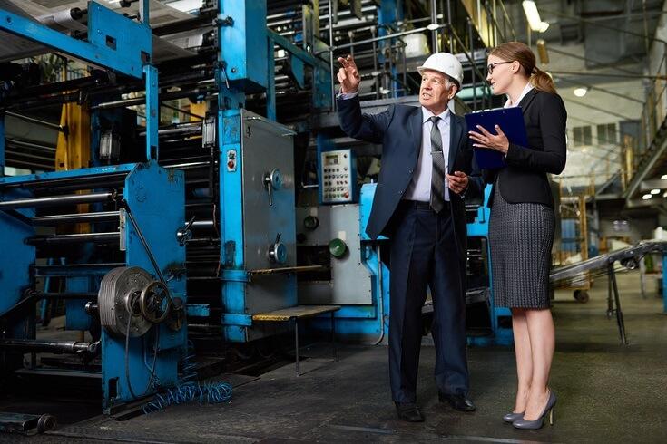 Planta de producción es supervisada por personal de la compañía