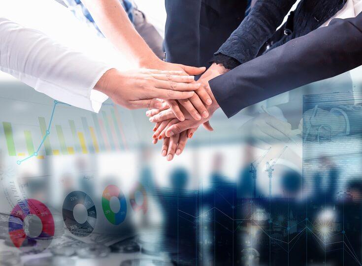 Equipo de trabajo comprometido con el desarrollo de buenas prácticas dentro de la organización