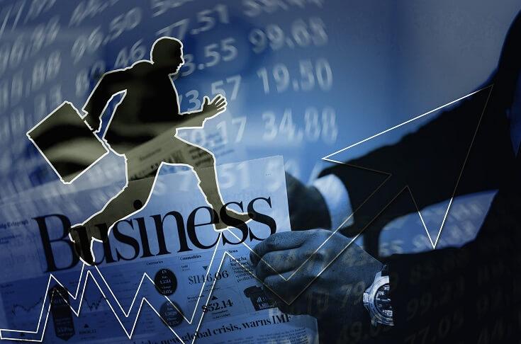 Hombre, negocio y carrera