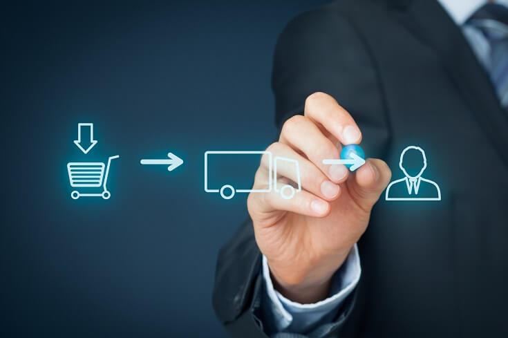 Cadena logística de proveedores