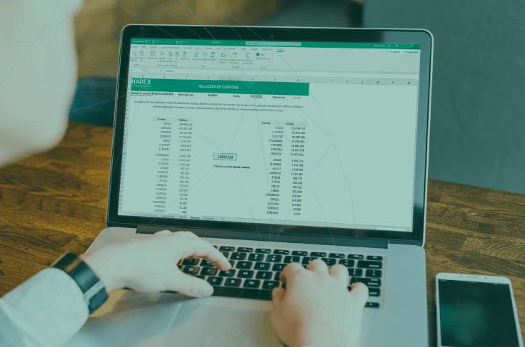 Herramienta de información financiera - Relación de cuentas