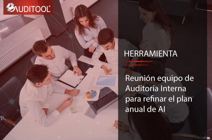 C-AG 006 Reunión equipo de Auditoría Interna para refinar el plan anual de AI
