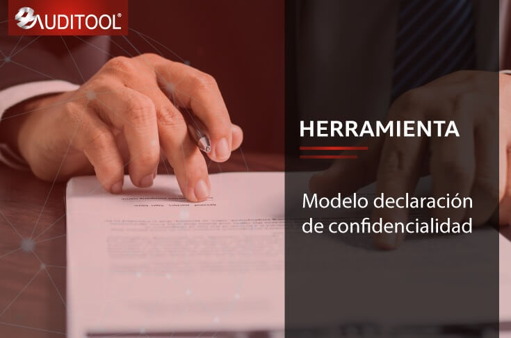 B-DEC 001 Modelo Declaración de Confidencialidad