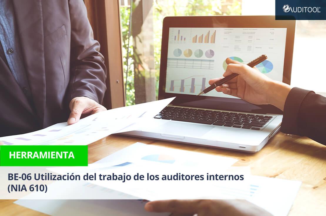 BE-06 Utilización del trabajo de los auditores internos (NIA 610)