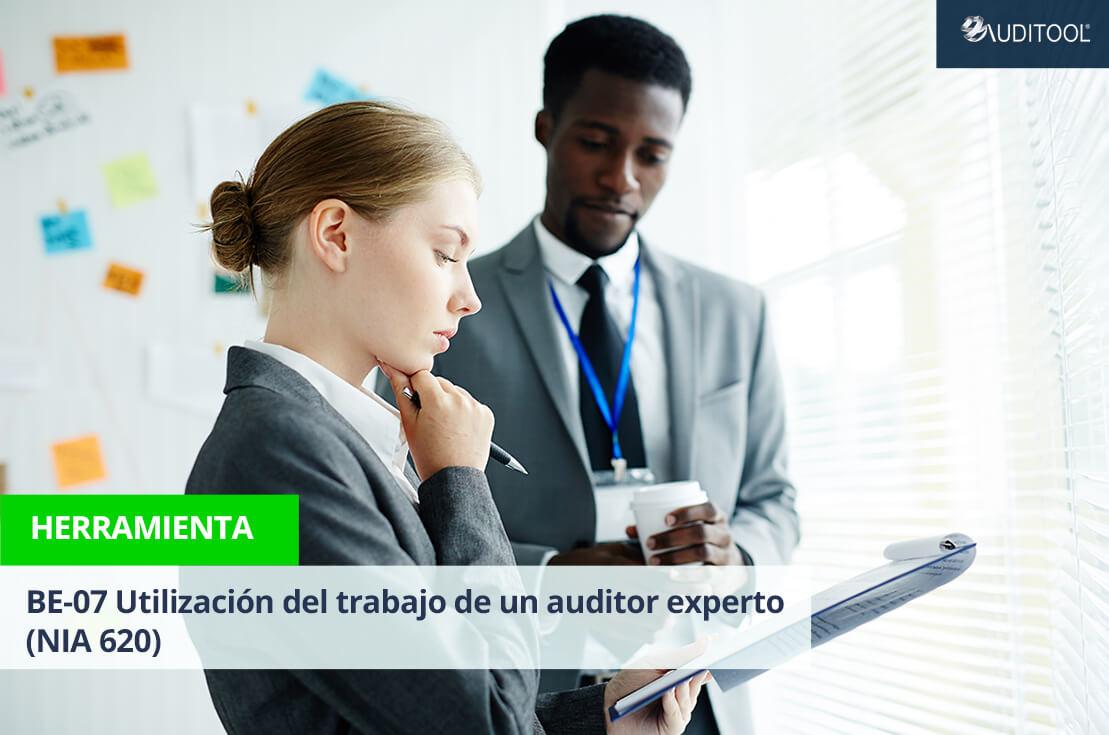 BE-07 Utilización del trabajo de un auditor experto (NIA 620)