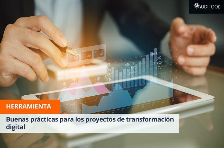 Buenas prácticas para los proyectos de transformación digital