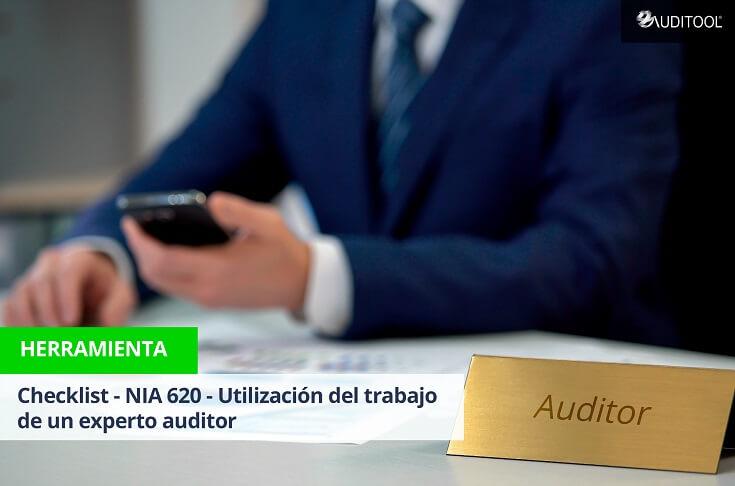 Checklist - NIA 620 - Utilización del trabajo de un experto auditor