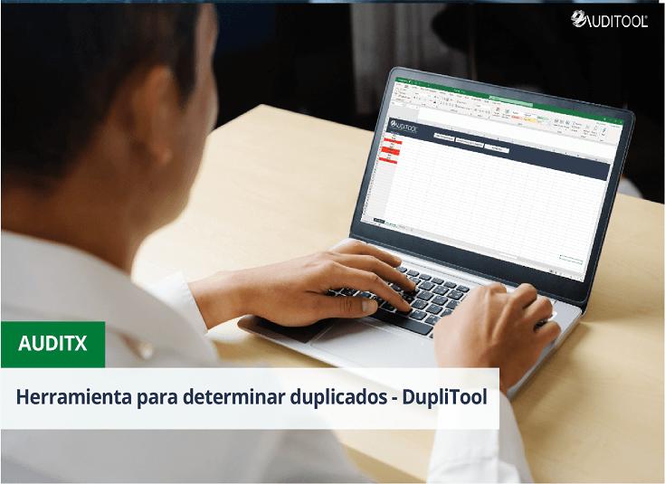 Herramienta para determinar duplicados - DupliTool