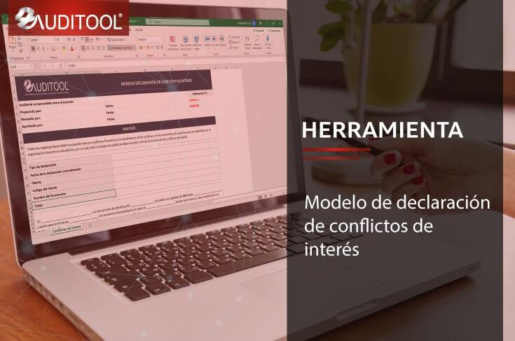 B-DEI 001 Modelo de declaración de conflictos de interés