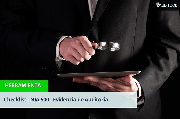 Checklist - NIA 500 - Evidencia de Auditoría