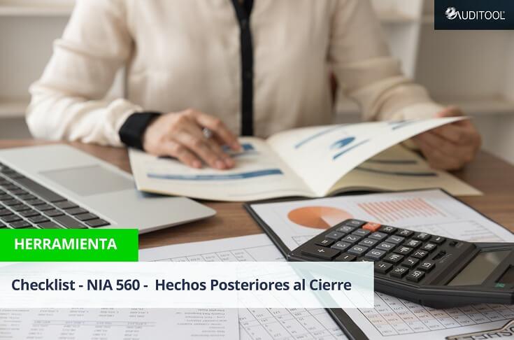 Checklist - NIA 560 - Hechos Posteriores al Cierre