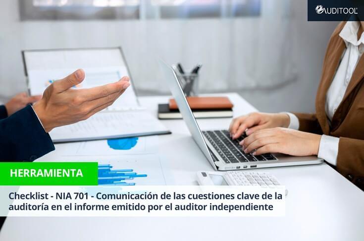 Checklist - NIA 701 - Comunicación de las cuestiones clave de la auditoría en el informe emitido por el auditor independiente