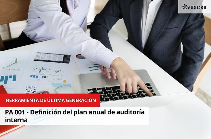 PA 001 - Definición del plan anual de auditoría interna