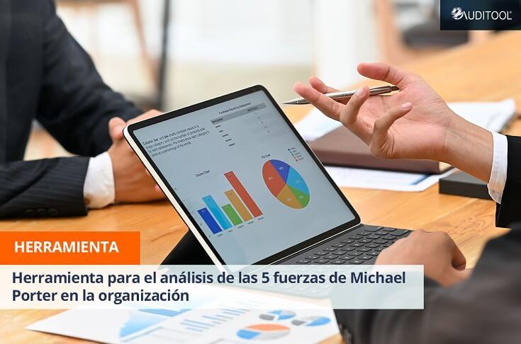 Herramienta para el análisis de las 5 fuerzas de Michael Porter en la organización