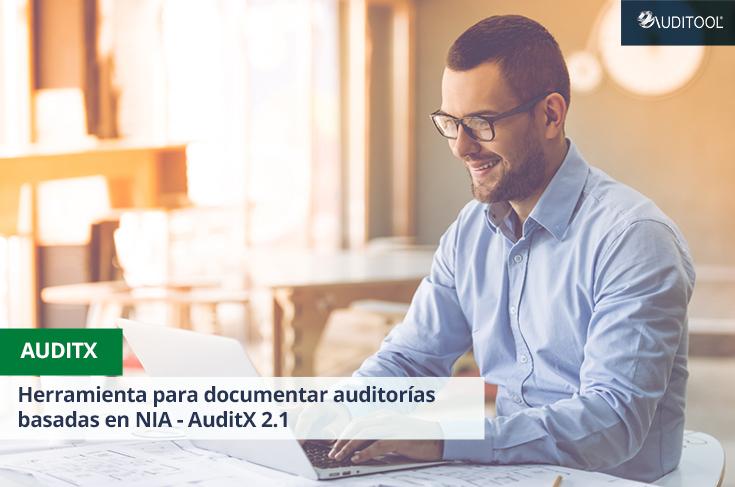 Herramienta para documentar auditorías basadas en NIA - AuditX 2.1