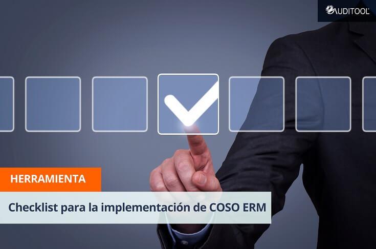 Checklist para la implementación de COSO ERM