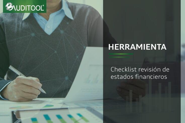 FIN-EF Checklist revisión de estados financieros