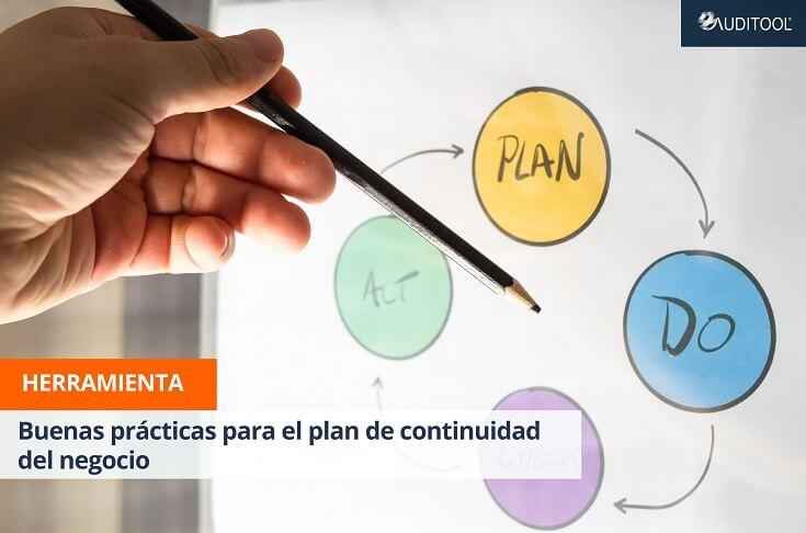 Buenas prácticas para el plan de continuidad del negocio