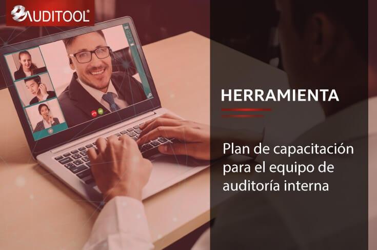 B-DE 002 Plan de capacitación para el equipo de auditoría interna
