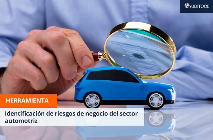 Herramienta para la identificación de riesgos de negocio en el sector automotriz